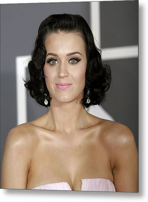 Katy Perry At Arrivals For Arrivals - Metal Print by Everett