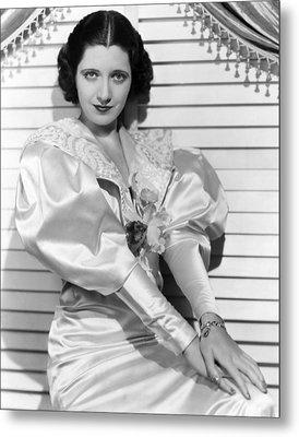 Kay Francis, Ca. Mid-1930s Metal Print by Everett