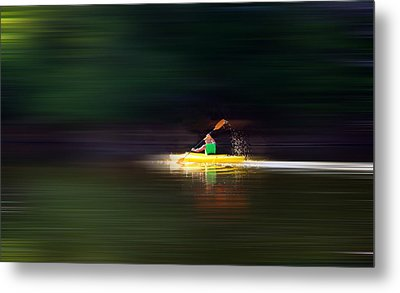 Metal Print featuring the photograph Kayak Ks by Brian Duram