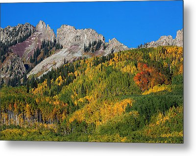 Metal Print featuring the photograph Kebler Pass by Jim Garrison