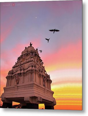 Kempegowda Tower - Lal Bagh, Bangalore Metal Print by Joseph riBin rOy