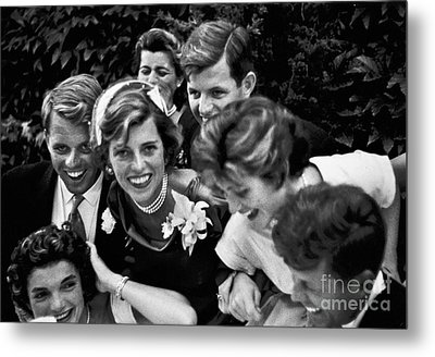 Kennedy Wedding, 1953 Metal Print by Granger