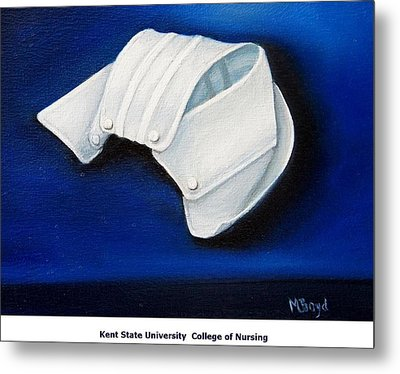 Kent State University College Of Nursing Metal Print by Marlyn Boyd