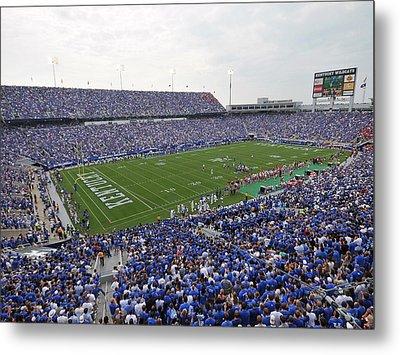 Kentucky Commonwealth Stadium Metal Print by University of Kentucky