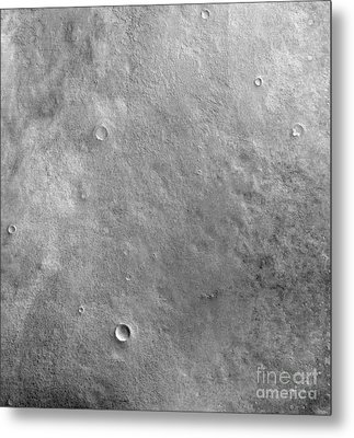 Kepler Crater On The Surface Of Mars Metal Print by Stocktrek Images