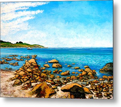 Kettle Cove Metal Print by Tom Roderick