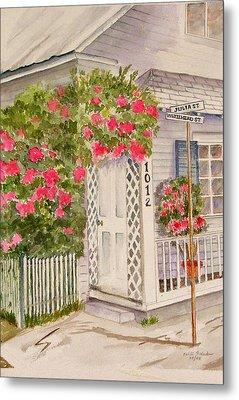 Key West Home Metal Print by Heidi Patricio-Nadon