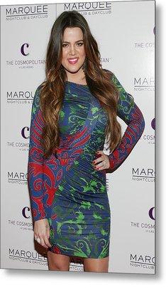Khloe Kardashian At Arrivals For Kim Metal Print