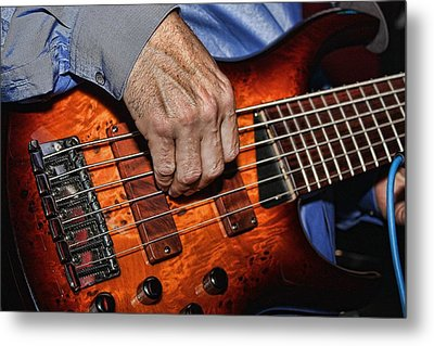 Killer Bass Metal Print