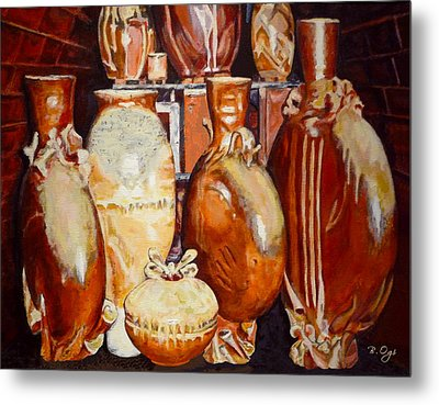 Kiln Party Metal Print by Brian Ogi