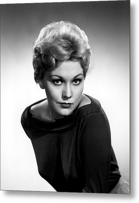 Kim Novak, Columbia Pictures, 1956 Metal Print by Everett