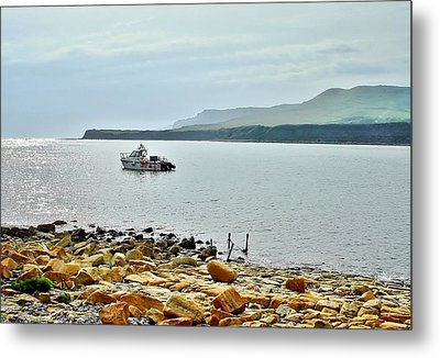 Metal Print featuring the photograph Kimmeridge 1 by Katy Mei