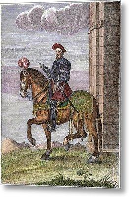 King Francis I (1494-1547) Metal Print by Granger