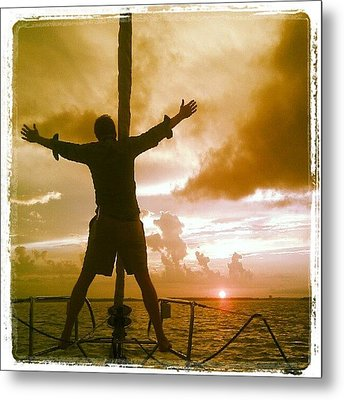 King Of The World? Metal Print by Dustin K Ryan