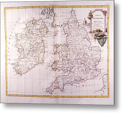 Kingdom Of England And Ireland Metal Print by Fototeca Storica Nazionale
