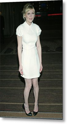 Kirsten Dunst Wearing A Miu Miu Dress Metal Print by Everett