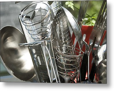 Kitchen 1 Metal Print by Lisa Missenda