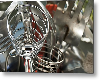 Kitchen 2 Metal Print by Lisa Missenda