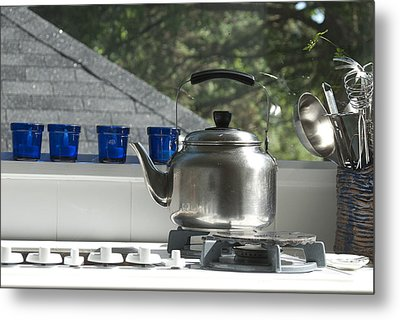 Kitchen 3 Metal Print by Lisa Missenda