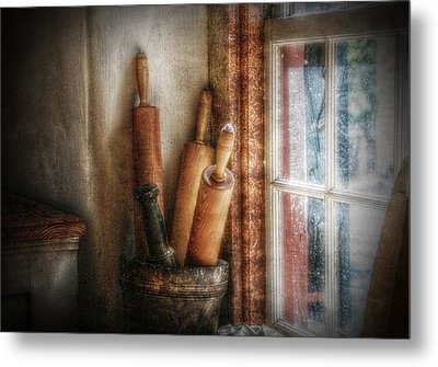 Kitchen Window Metal Print