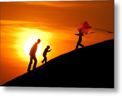 Kite Metal Print by Okan YILMAZ