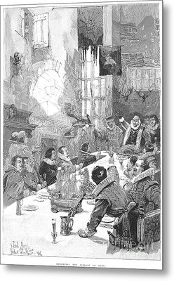 Knighting The Sirloin Metal Print by Granger
