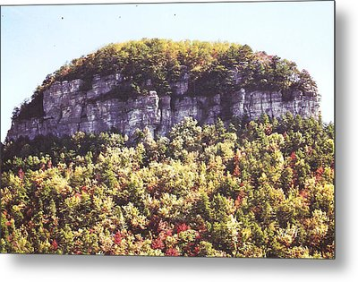 Knob Mountain Metal Print