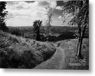 Knockmany Hill Clougher Valley County Tyrone Northern Ireland Metal Print by Joe Fox