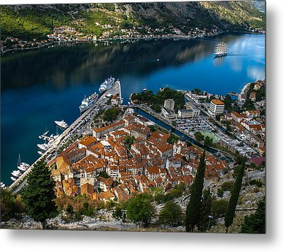 Metal Print featuring the photograph Kotor Montenegro by David Gleeson