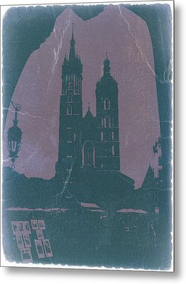 Krakow Metal Print by Naxart Studio