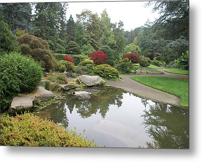 Kubota Park Metal Print by Jerry Cahill