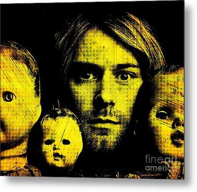 Kurt Cobain Metal Print by Ankeeta Bansal