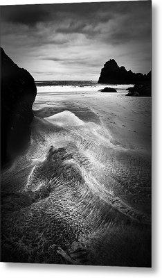 Kynance Cove Cornwall Metal Print by Dorit Fuhg