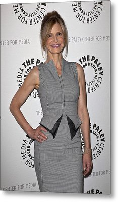 Kyra Sedgwick Wearing An Antonio Metal Print by Everett