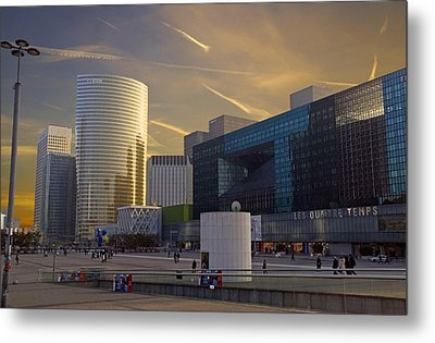La Defense Metal Print by Rod Jones