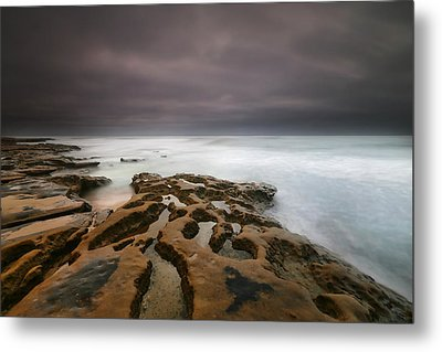 La Jolla Reef Sunset 5 Metal Print by Larry Marshall