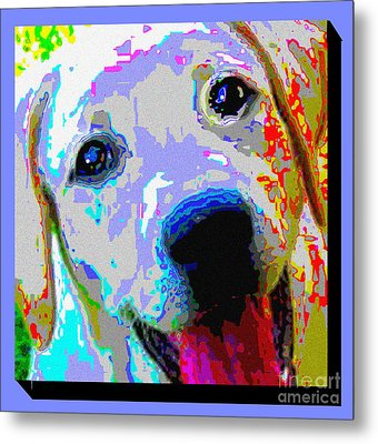 Lab Love Metal Print