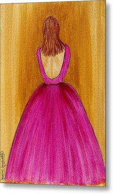 Lady In Pink 4536 Metal Print by Jessie Meier