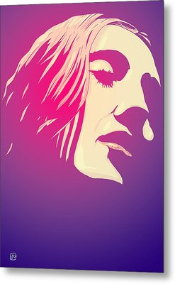Lady In The Light Metal Print by Giuseppe Cristiano