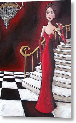 Lady Of The House Metal Print by Denise Daffara