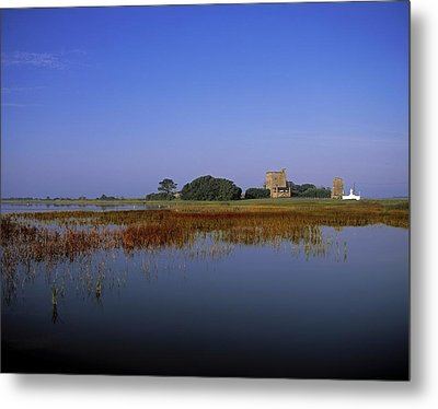 Ladys Island, Co Wexford, Ireland Site Metal Print by The Irish Image Collection