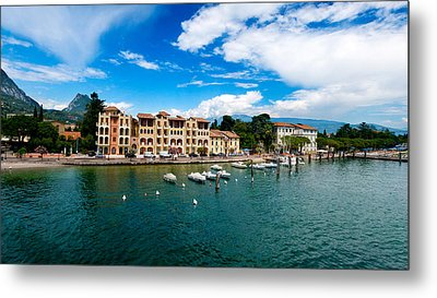 Lago Di Garda In Italy In Early Spring  Metal Print by Ulrich Schade