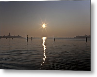 lagoon of Venice Metal Print by Joana Kruse