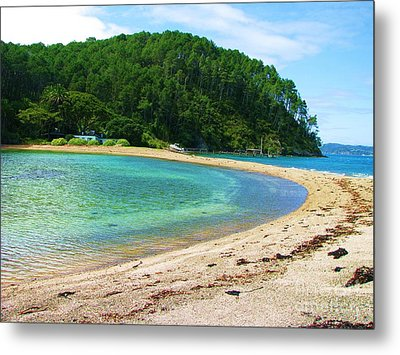 Metal Print featuring the photograph Lagoon On Roberton Island by Michele Penner
