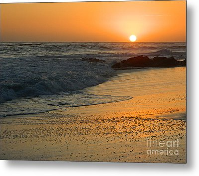 Metal Print featuring the photograph Laguna Sunset by Everette McMahan jr