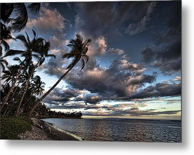 Lahaina Evening Metal Print by James Roemmling