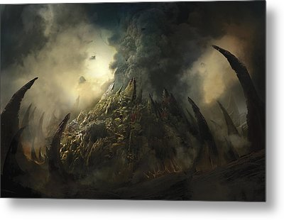 Lair Of The Ashen Idol Metal Print