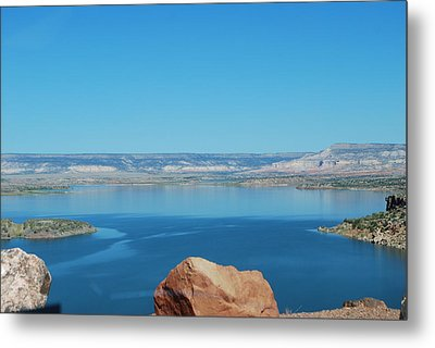 Metal Print featuring the photograph Lake Abiquiu by William Wyckoff
