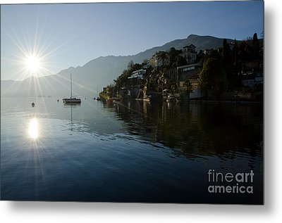 Lake And Sunlight Metal Print by Mats Silvan
