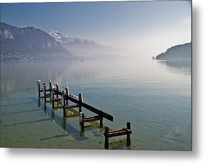 Lake Annecy (lac D'annecy) Metal Print by Harri's Photography